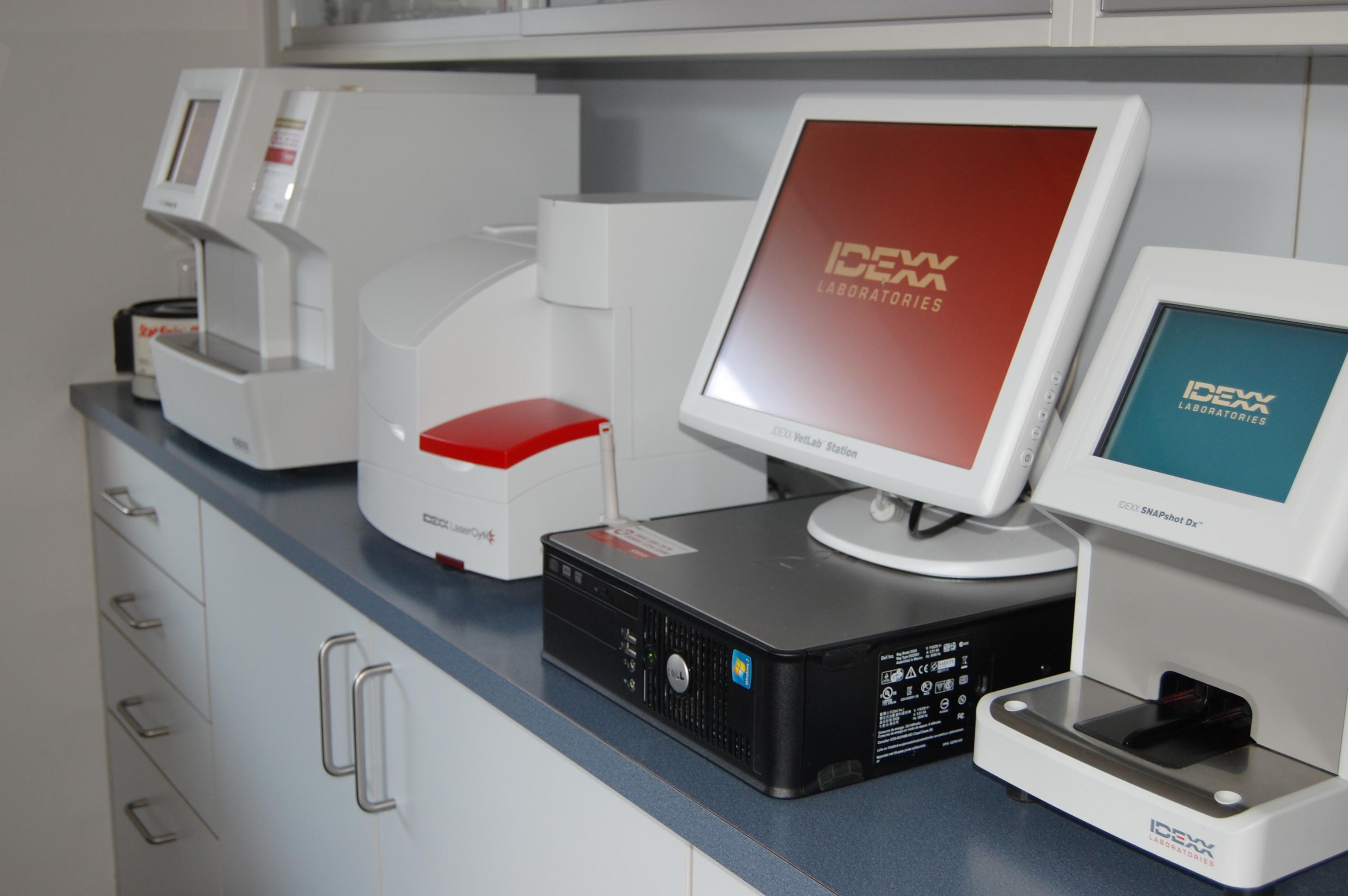 Modernste Laborausstattung